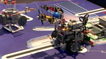 Engineers of the future create Lego robots