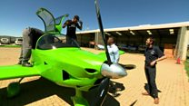 Meet the 'Uber of the skies' in South Africa
