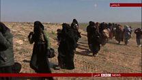 تنگ شدن حلقه محاصره داعش در باغوز