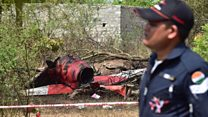 India planes crash during show rehearsal