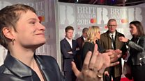 Christine and the Queens at the Brits