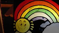 Window art trail spreads friendship
