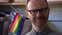 Mark Gatiss: Gay helpline 'lifted burden'