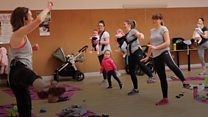 Gym class takes childcare worries away