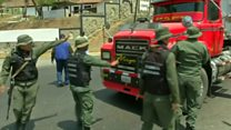 ونزوئلا مرزش را با برزیل می بندد تا کمکهای 'مشکوک' وارد نشود
