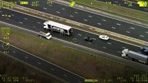 Wrong-way motorway getaway man jailed