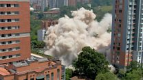 Pablo Escobar's former home demolished
