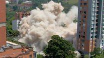 Escobar's former home demolished