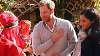 Harry and Meghan at Morocco education charity