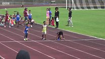 Fastest seven-year-old in the world? Judge for yourself