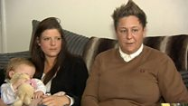 Community backs gay couple after hate note
