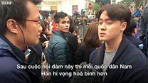 Sinh viên Nam Hàn trả lời BBC về Hội nghị Mỹ-Triều