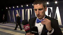 Red carpet rejection for BBC reporter
