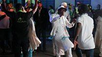Buhari supporters celebrate in Nigeria