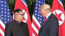 Дональд Трамп и Ким Чен Ын: друзья или враги?
