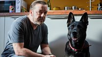 Ricky Gervais: 'Dogs will save humanity'