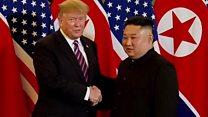 Trump and Kim meet again