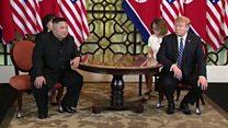 Kim and Trump start second day of talks