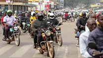 Making motorbike taxis in Uganda safer