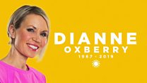 BBC star Dianne Oxberry's memorial service