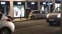 Robbers target Hugo Boss store
