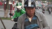 007미션을 맡은 베트남 모터 택시 운전사