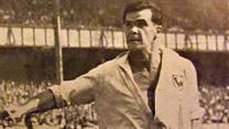 Programme reveals match 'stopped' by Nazis