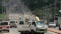 Improving Zambia's roads