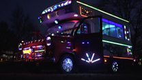 Dragon Bus: The camper-van with 7000 lights