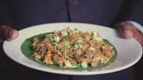 """المطبخ العالمي: كيفية تحضير طبق """"الكوتوروتي"""" الأشهر في سيريلانكا"""