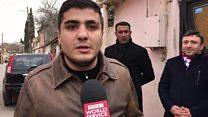 Azadlığa çıxan Mehman Hüseynov evinə qayıdıb