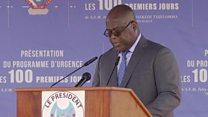 DR Congo president makes amnesty pledge