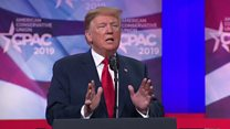 Trump attacks his opponents in Maryland speech