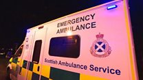 Rise in paramedics off sick with stress
