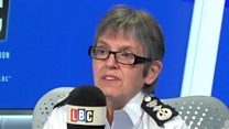 'Violent crime linked to policing numbers'
