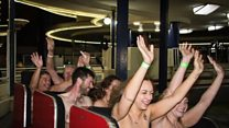 Naturists attempt rollercoaster record