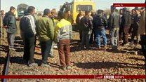 اعتراض کارگران راه آهن رفت و آمد قطارها را مختل کرد