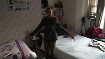 'Every night I pray to move house'