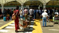 Passengers stranded in Kenya airport strike
