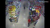 CCTV shows acid attack on boy, jury hears