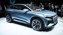 Electric cars dominate Geneva Motor Show