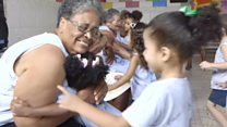 Young and old defy loneliness in Rio favela