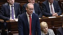 Simon Coveney says Karen Bradley's comments have come at time of 'real sensitivity'