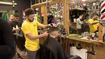 The barber shop offering men head space