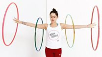 'Hula hooping is my happy place'