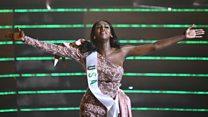 หญิงข้ามเพศ-ผิวสีชาวอเมริกันชนะมงกุฎ Miss International Queen