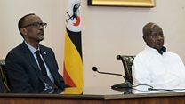 Prezida Kagame avuga ko ibibazo na Uganda ari kuva ku giye ya Sendashonga