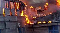 Fire destroys remote bird observatory