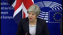 メイ英首相、下院が求めた離脱協定の修正を確保したと