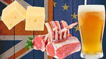 ブレグジット イギリス産のチーズや羊やビールはどうなる